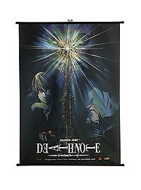 Death Note Light Vs. L Wall Scroll - I'd probably end up framing it, but still ♥ I'm going to frame my OM&M, Naruto, Hunger Games, other Hunger Games, and my BMTH posters!
