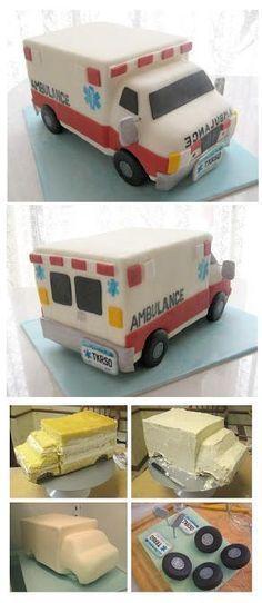 Tarta Ambulancia