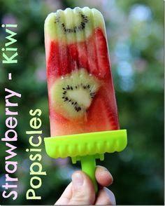 ALDI Prices + Strawberry-Kiwi Popsicles #aldilove