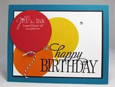 Happy Birthday Everyone hostess set - SU - CAS card Birthday Cards, Happy Birthday, New Catalogue, Birthday Balloons, Stamping Up, Kids Cards, Homemade Cards, Stampin Up Cards, Fun Crafts