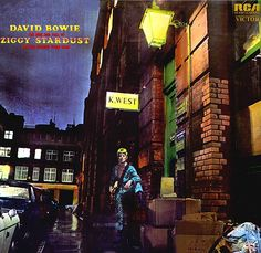 David Bowie - The Rise and Fall of Ziggy Stardust and the Spiders from Mars.