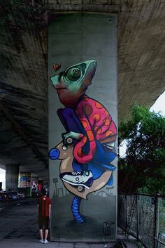 Por Amor al Arte: Streetart: Murales de polaco Streetart-Crew Etam Cru en 2013 Sainer y Bezt.