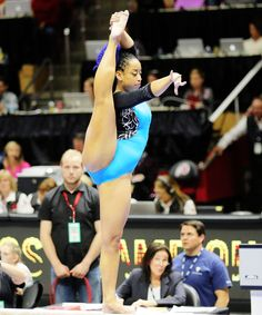 Sophina DeJesus didn't just nail a nearly perfect routine and lead UCLA to victory — she did it with So. Gymnastics World, Amazing Gymnastics, Sport Gymnastics, Artistic Gymnastics, Olympic Gymnastics, Gymnastics Routines, Gymnastics Flexibility, Nfl Cheerleaders, Cheerleading