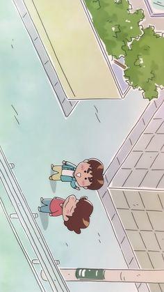 아따맘마 핸드폰 배경화면 : 네이버 블로그 Chibi Wallpaper, Cartoon Wallpaper Iphone, Nishinoya, Cartoon Games, Naive Art, Kawaii, Cute Drawings, Cute Art, Aesthetic Wallpapers