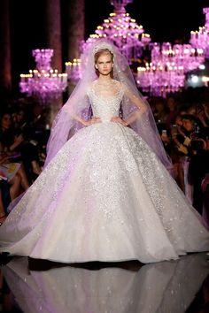 Paris Fashion Week 2014: Elie Saab #ElieSaab #Wedding