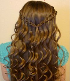 Girls Prom Hairstyles