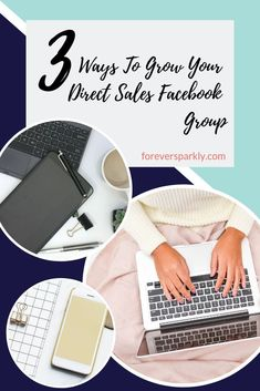 Looking to grow your direct sales Facebook group? Click to read the 3 easy and simple ways you can grow your direct sales Facebook group in under 5 minutes. #directsales #facebooktips #socialmarketing