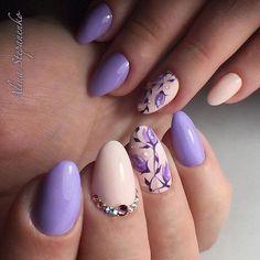 Красивые ногти. Уроки дизайна ногтей - #accentnails #accent #nails