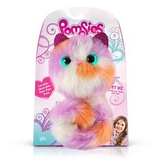 Electronic & Interactive Electronic, Battery & Wind-up Cooperative Pomsies Snowball W/ Exclusive Pack A Hatch