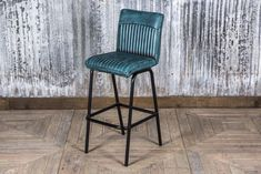 Industrial style bar stools from Peppermill Interiors. Available in a range of colours and two heights. Matching dining chairs also in stock now. High Bar Stools, Bar Stools With Backs, Modern Bar Stools, Metal Chairs, Bar Chairs, Dining Chairs, Desk Chairs, Leather Swivel Bar Stools, Leather Stool