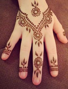 Hand plants tattoo