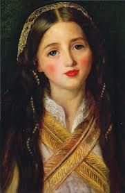John Everett Millais - Potraite of Alice