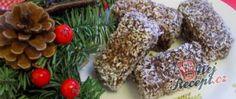Kokosoví ježci - tradiční recept Christmas Wreaths, Herbs, Holiday Decor, Food, Raffaello, Holiday Burlap Wreath, Herb, Meals, Spice