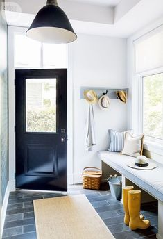 A functional cottage mud room {PHOTO: Robin Stubbert}
