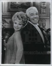 1969 Press Photo Lucille Ball and Cesar Romero - cvp15720