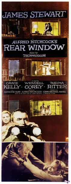 dfmp10_051_Rear_Window_ (Rear Window; 1954; James Stewart; Grace Kelly; Wendell Corey; Alfred Hitchcock; Thelma Ritter; ) / Movie Poster