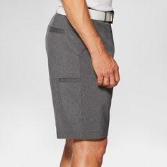 Men's Heathered Golf Shorts - Jack Nicklaus - Charcoal (Grey) 28