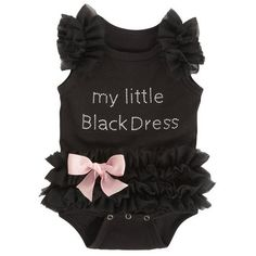 Baby Onesie: My Little Black Dress – The Gift Spot