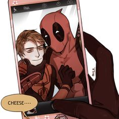 Marvel Universe - Wade Wilson x Peter Parker - Deadpool x Spiderman - Spideypool