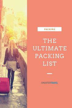 Packing mishaps range from minor (forgetting a swimsuit) to disastrous (forgetting a passport). Our ultimate packing list can help you pack well every time.