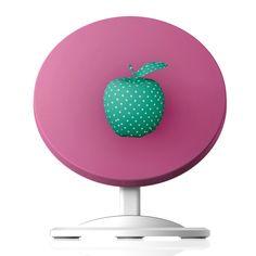 Wireless Charger Desk Apple Spots by Texnotropio Designer, Charger, Desk, Apple, Artists, Apple Fruit, Desktop, Table Desk, Office Desk