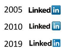 History of the #LinkedIn #Logo - #Synopsis 2005, 2010 and 2019 linkedinsiders.wo...