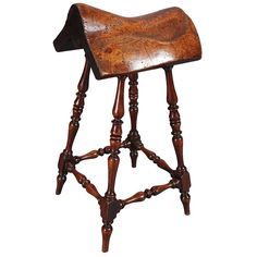 Unusually+Fine+19th+Century+Saddle+Stand+|+From+a+unique+collection+of+antique+and+modern+curiosities+at+https://www.1stdibs.com/furniture/more-furniture-collectibles/curiosities/