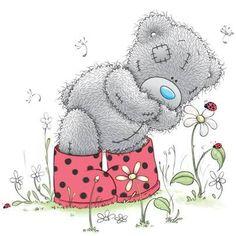 Bilderesultat for tatty teddy printables Teddy Images, Teddy Pictures, Bear Images, Bear Pictures, Cute Images, Cute Pictures, Tatty Teddy, Watercolor Card, Teddy Beer