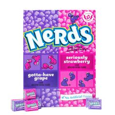 World's Largest Box of Nerds Candy - Giant Nerds Candy Gift Box Peanut Butter Filled Pretzels, Peanut Butter Kiss, Biscoff Cookie Butter, Candy Gift Box, Candy Gifts, Vegan Junk Food, Vegan Snacks, Lenny And Larry Cookies, Jolly Rancher Hard Candy