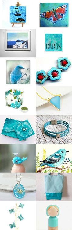Turquoise by Conex Conex on Etsy--Pinned with TreasuryPin.com