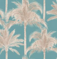Miami Teal wallpaper by Albany