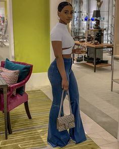 tadiorx 🌟 Cute Swag Outfits, Dope Outfits, Stylish Outfits, Girl Outfits, Fashion Outfits, Black Girl Fashion, Look Fashion, Black Girl Style, 80s Fashion