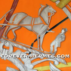 Need a dreamcatcher ? In our store now! http://forever-hermes.com #ForeverHermes this Hermes Paris silk scarf titled Attrape Tes Reves by Leigh P. Cooke what a stunning #walldecor would this make! #attrapereves #dreamcatcher with the iconic#HermesParis logo the #carriage & #rider as #necktie #dapper #gentleman #MensSuit #MensWear #mensfashion #menstyle #womenswear #womensfashion #HermesCarre #dream #horse #Hermes #orange