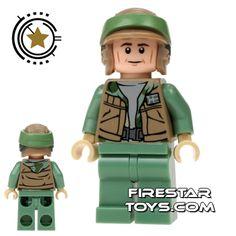LEGO Star Wars Mini Figure - Rebel Commando - Tan Jacket