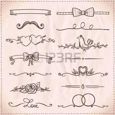 Easy paper border designs