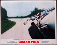 Grand Prix is a 1966 American action film with an international cast. The picture was directed by John Frankenheimer with music by Maurice Jarre and stars James Garner, Eva Marie Saint, Yves Montand, Brian Bedford, Jessica Walter and Antonio Sabàto.and Toshiro Mifune. The picture was photographed in Super Panavision 70 by Lionel Lindon, and presented in 70 mm Cinerama in premiere engagements. Its unique racing cinematography – in part credited to Saul Bass is one of the main draws of the…
