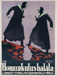 Nandor Honti Homunculus - Teil 6 (1917) Filmplakat - Homunculus (film) - Wikipedia
