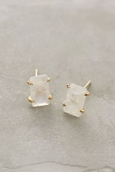 Iced Moonstone Posts - anthropologie.com