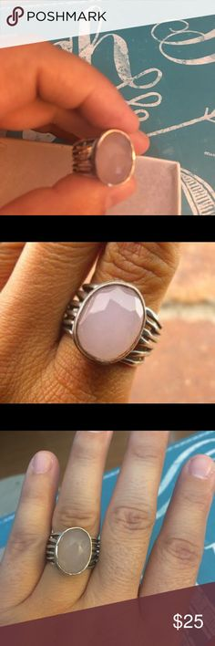 R1851 Silpada Size 7 Blushing Brides, Happy Mommies, Trendy Glam Gals - a great addition to your collection. Substantial silver piece with quality Rose Quartz. Priced to move - bundle with a polishing cloth to keep your new piece looking beautiful 💖💖 Silpada Jewelry Rings