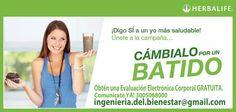 Nutrición para una vida saludable. #Herbalife #Salud #Controldepeso #Bienestar #Activa #Saludable
