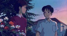 Whisper of the Heart Film Animation Japonais, Animation Film, Studio Ghibli Art, Studio Ghibli Movies, Hayao Miyazaki, Nostalgia Art, Japanese Animated Movies, Film D'animation, Arte Disney