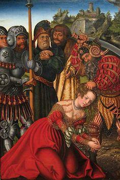 Martyrdom of Saint Barbara, by Lucas Cranach the Elder