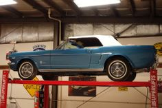 1964 1/2 Mustang K Code