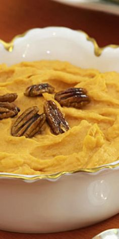 Maple-Pecan Sweet Potato Mash  - 25 ways to add this nutrient-packed veggie into your diet