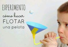 Little floating toy, craft #manualidadesparaniños