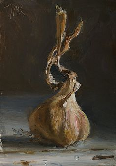 daily painting titled Garlic - click for enlargement