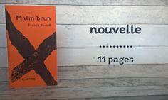 conseil lecture - Matin brun par Franck Pavloff