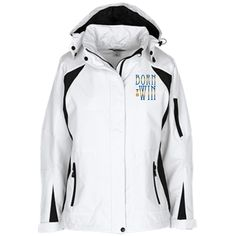 BORN TO WIN! Ladies Custom Embroidered Jacket – WAM Shopping