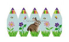 Bunny In Flowers Susan Roberts