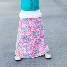 Be bold in this showstopping skirt. Guaranteed to create smiles!